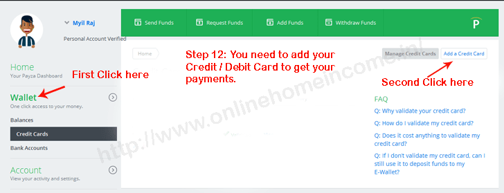 add debitcards