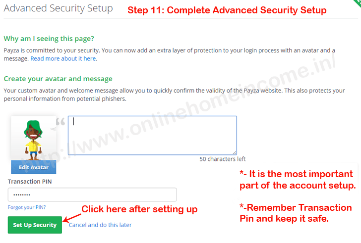 Advanced Account Security
