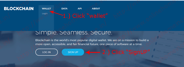 Blockchain Wallet Registration