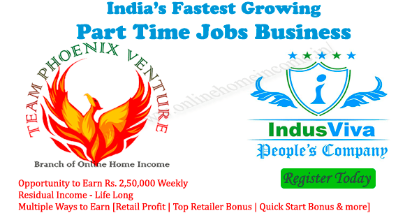 Indusviva part time jobs