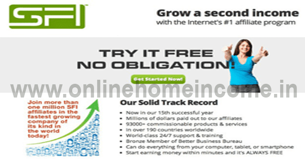 Earn from SFI Business