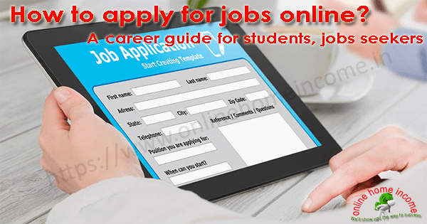 Apply for Jobs Online