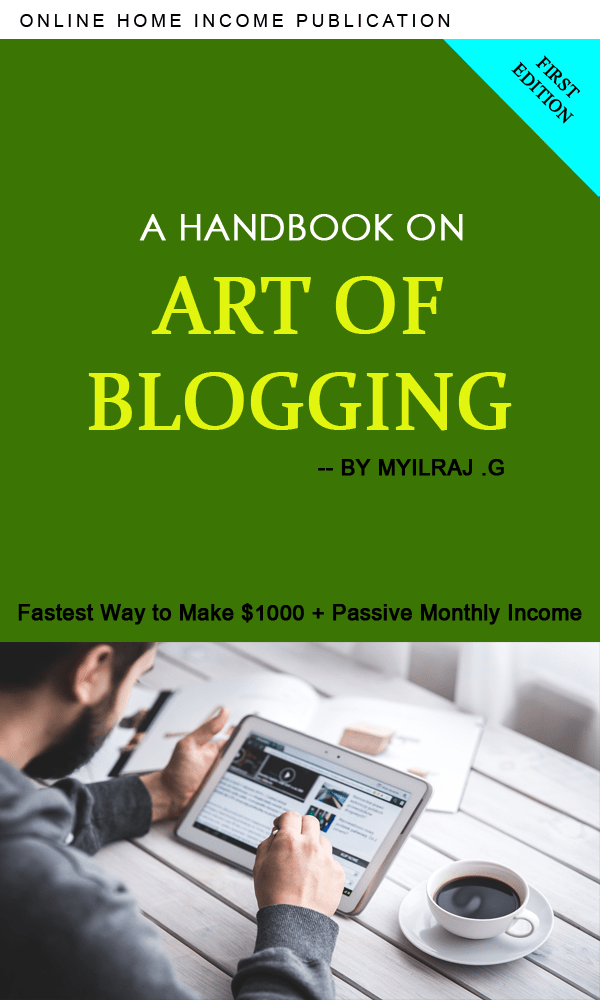 Art of Blogging Book Cover