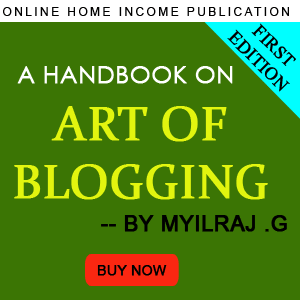 Blogging Ebook Banner