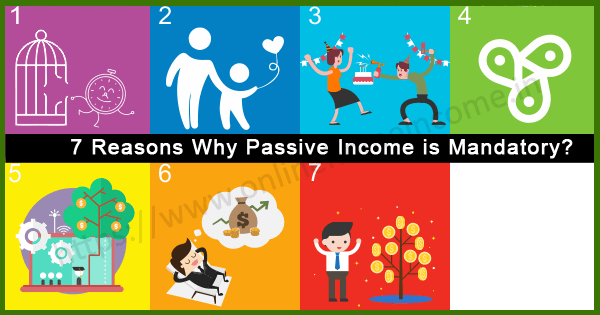 Reasons for Passive Revenue