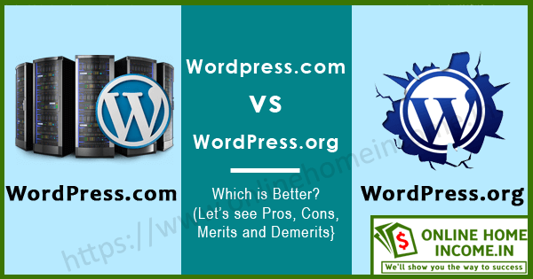 WordPress Com vs WordPress Org Blogging