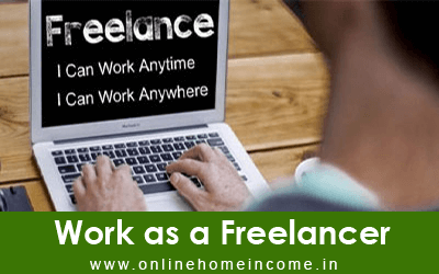 Work as a Freelancer